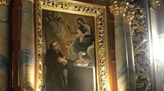 Święty Antoni Padewski w iwonickim Kościele Wszystkich Świętych